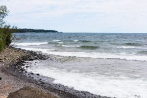 The views of Lake Superior from our Two Harbors cabin rentals