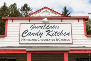 Great! Lakes Candy Kitchen is just a short drive from our cabins on Lake Superior